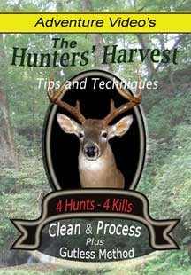 deer field dressing and processing video DVD